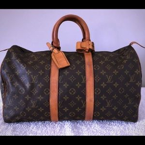 Coming soon! Authentic LV Keepall 45
